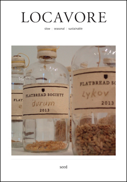 Locavore Magazine First Edition
